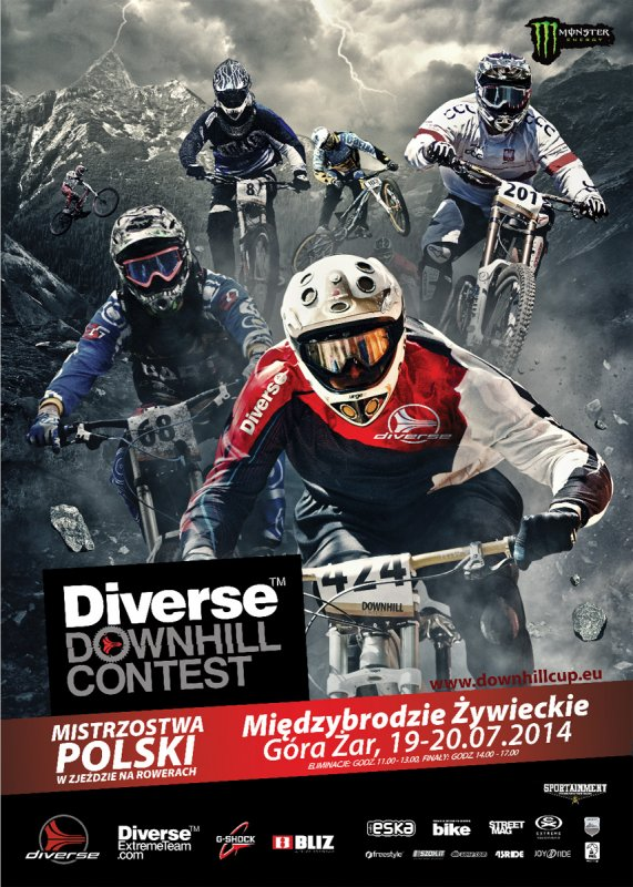 Diverse Downhill Contest na Żarze