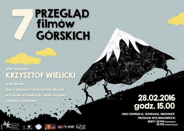 VII Przegląd Filmów Górskich w Wadowicach