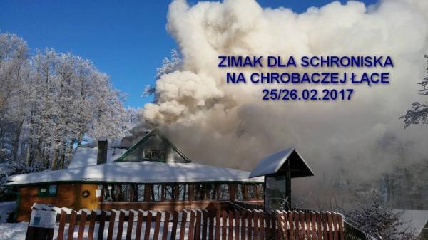 ZIMAK DLA SCHRONISKA NA CHROBACZEJ ŁĄCE...