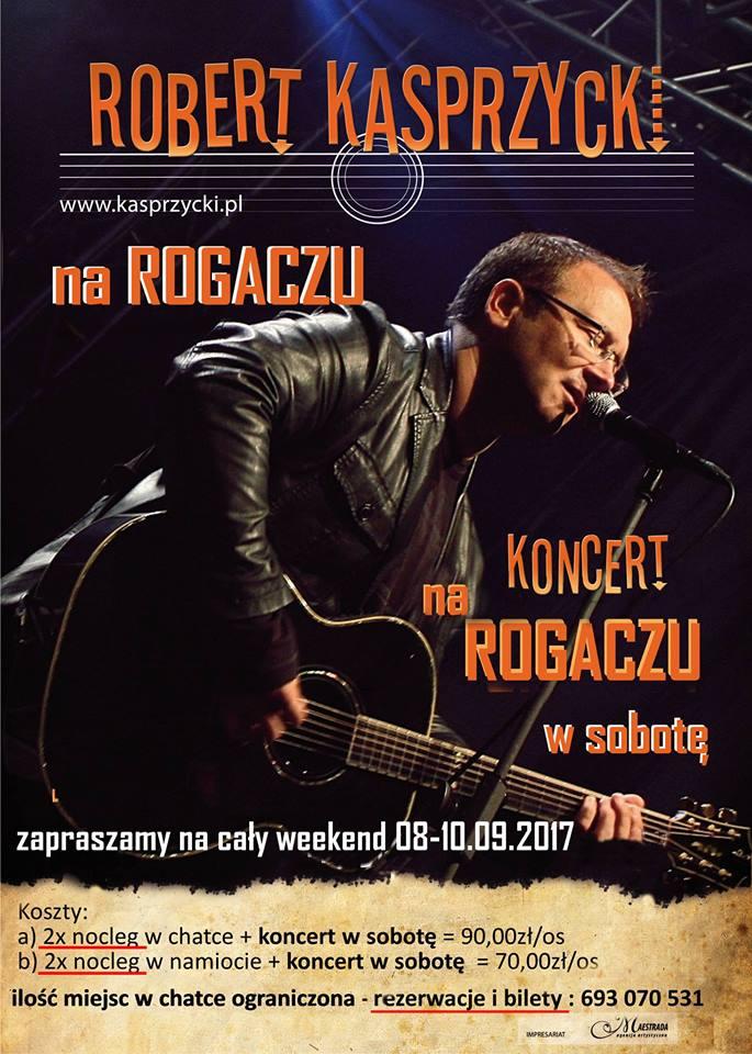 Robert Kasprzycki na Rogaczu