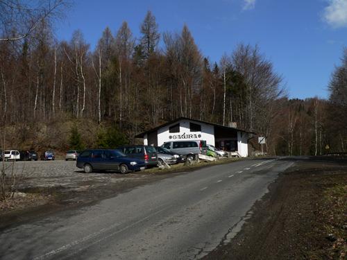 Bielsko-Biała Straconka Podlas - Przełęcz Przegibek