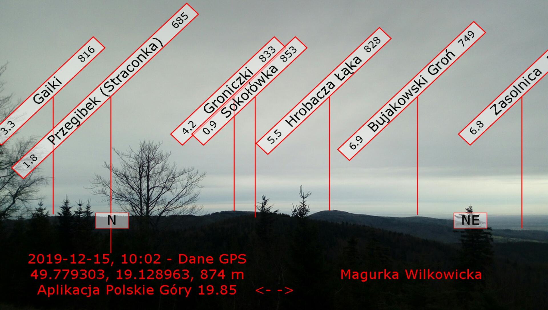 Widok z Magurki autor Robert Celiński